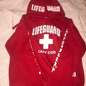 Lifeguard women's hoodie sweatshirt Cape Cod